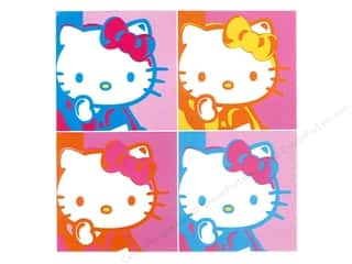 Bendon Publishing San Rio / Hello Kitty: C&D Visionary Sticker Hello Kitty Warhol
