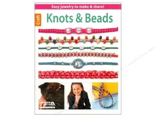 2013 Crafties - Best Adhesive: Knots & Beads Book by Leisure Arts