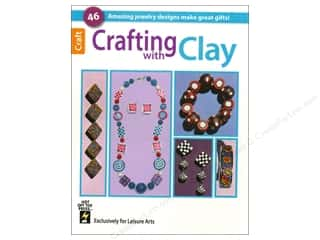 Leisure Arts Clearance Patterns: Crafting With Clay Book by Leisure Arts