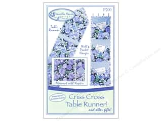 Vanilla House Quilting Patterns: Vanilla House Criss Cross Table Runner Pattern