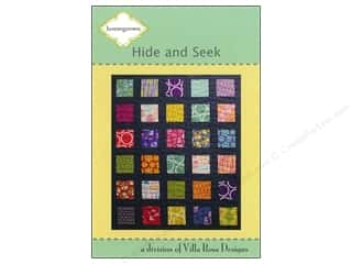Brookshier Design Studio Charm Pack Patterns: Villa Rosa Designs Homegrown Hide And Seek Pattern
