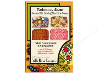 Sweet Jane Quilting Designs: Villa Rosa Designs Rebecca Jane Reversible Sewing Machine Cover Pattern