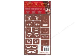 Craft & Hobbies Family: Armour Over 'N' Over Stencil Face Elements