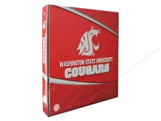 Sports Clear: Washington State 1 in. 3-Ring Binder