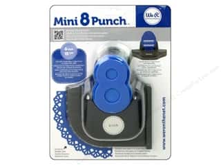 Scrapbooking Sale We R Memory Lucky 8 Punches: We R Memory Punch Mini 8 Raindrop