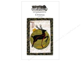 Patterns Christmas: Log Cabin Quiltworks Christmas Reindeer Pattern