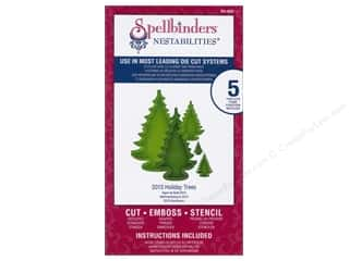 Spellbinders Nestabilities Die 2013 Holiday Trees