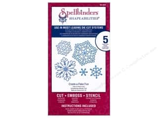 Spellbinders Shapeabilities Die Create-A-Flake Five