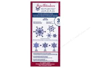 Tools Winter Wonderland: Spellbinders Shapeabilities Cut-Fold-Tuck Die Dimensional Snowflake