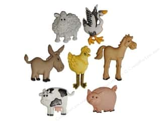 Farms Scrapbooking & Paper Crafts: Jesse James Dress It Up Embellishments Funny Farm