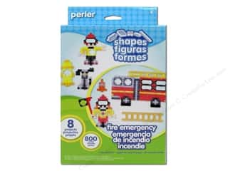 Weekly Specials Perler Fused Bead Kit: Perler Shapes Activity Kit Fire Emergency