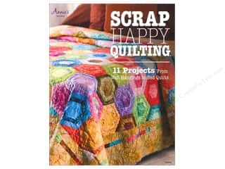Appliques $3 - $13: Annie's Scrap Happy Quilting Book