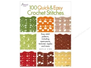 crochet books: 100 Quick & Easy Crochet Stitches Book