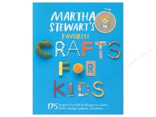Cross Stitch Project Holiday Gift Ideas Sale: Potter Publishers Martha Stewart's Favorite Crafts For Kids Book