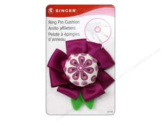 Singer Sew Cute Pin Cushion Flower Ring