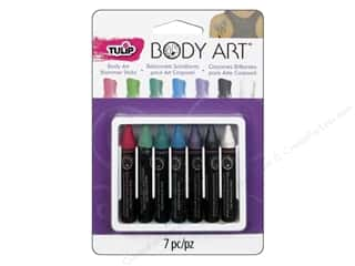 Tulip paint: Tulip Body Art Color Sticks Shimmer Pastel 7pc