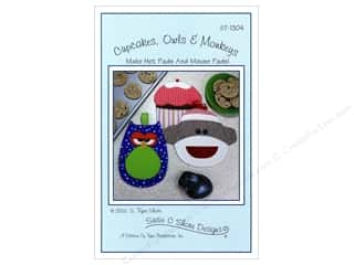 Cupcakes, Owls & Monkeys Pattern