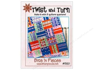 Bits 'n Pieces Quilting Patterns: Bits 'n Pieces Twist And Turn Pattern