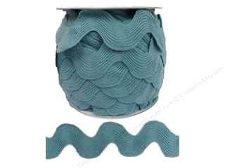 Jumbo Ric Rac by Cheep Trims  1 13/32 in. Dusty Blue (24 yards)