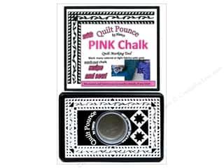 fabric chalk: Hancy Quilt Pounce Pad Pink