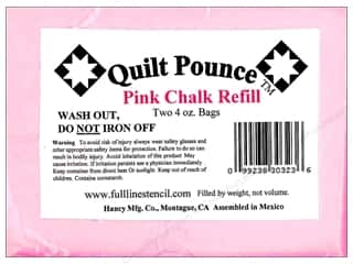 Hancy Quilt Pounce Refill Chalk 8 oz. Pink