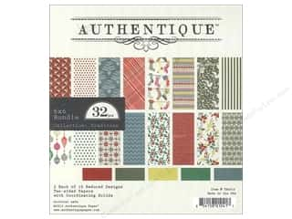 Authentique 6 x 6 in. Paper Bundle Tradition 32 pc.