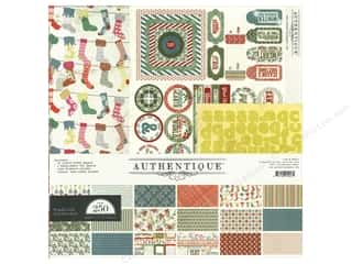 Clearance Best Creation Collection Kit: Authentique Collection Kit 12 x 12 in. Tradition