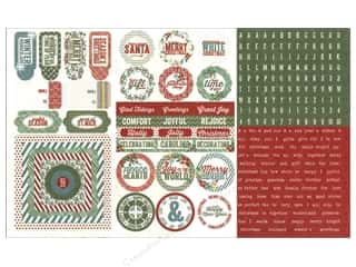 Winter Wonderland: Authentique Stickers 12 x 8 in. Traditions Elements (18 sets)