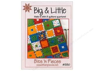 Bits 'n Pieces Quilting Patterns: Bits 'n Pieces Big & Little Pattern