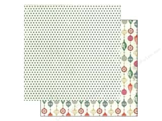 Christmas inches: Authentique 12 x 12 in. Paper Tradition Collection Ornament (25 pieces)