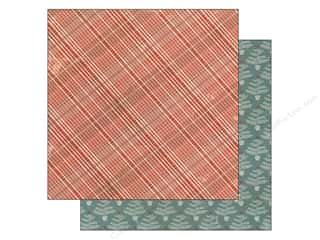 Plaid inches: Authentique 12 x 12 in. Paper Tradition Collection Tinsel (25 pieces)