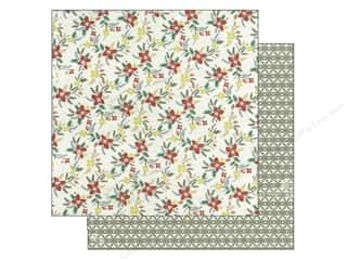 Christmas inches: Authentique 12 x 12 in. Paper Tradition Collection Customary (25 pieces)