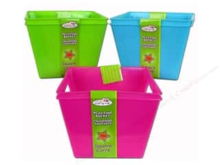 Craft Medley Playtime Bucket Assorted Square 2 pc. (48 pieces)