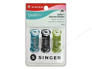 Sublime Stitching Quilting Notions: Singer Notions QuiltPro Quilter Between Needle with Magnet 24pc