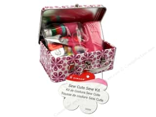 Needle Threaders Black: Singer Sewing Kits Sew Cute Tin