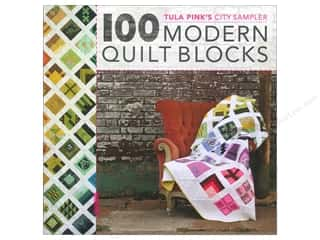 Books inches: David & Charles Tula Pink's City Sampler 100 Modern Quilt Blocks Book