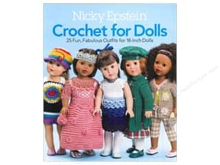Storey Books Doll & Doll Accessories Books: Sixth & Spring Crochet For Dolls Book by Nicky Epstein