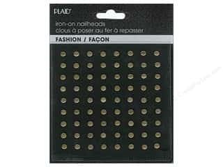 Plaid New: Plaid Iron On Hot Fix Nailhead Round Ox Brass