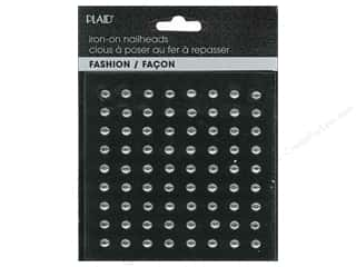 Plaid New: Plaid Iron On Hot Fix Nailhead Round Shiny Silver