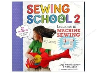 Back To School $2 - $4: Storey Publications Sewing School 2: Lessons in Machine Sewing Book by Andria Lisle and Amie Petronis Plumley