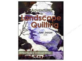Log Cabin Quilts: Log Cabin Quiltworks Adventures In Landscape Quilting Book by June Jaeger