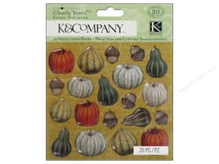 Fruit & Vegetables New: K&Company Stickers Tim Coffey Fall Clearly Yours Icon