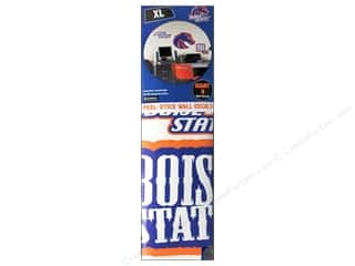 Home Decor Sports: York Peel & Stick Decal Giant Boise State