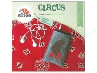 Dies Slice Design Cards: Slice Design Card Circus