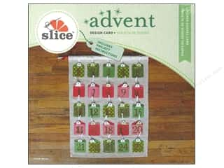 Gifts & Giftwrap Slice Design Cards: Slice Design Card Advent