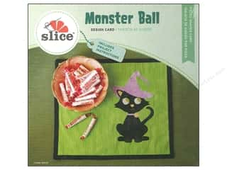 Gifts & Giftwrap Slice Design Cards: Slice Design Card Monster Ball