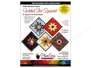 woven interfacing: Folded Star Square Hot Pad Pattern