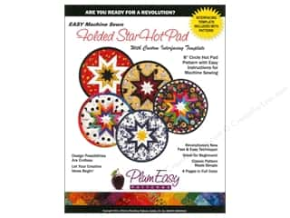 Books & Patterns Hot: PlumEasy Patterns Star Round Hot Pad Pattern