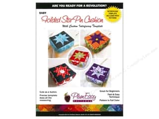 Sheet Vinyl Books & Patterns: PlumEasy Folded Star Pin Cushion Pattern