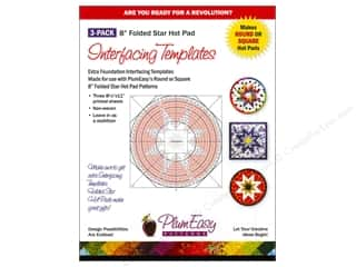 PlumEasy Patterns Interfacing Templates HotPad 3pc